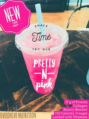 Pretty and Pink Loaded Tea